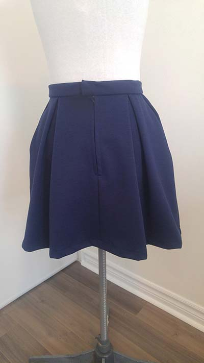 Skirt Pattern Anime Uniform