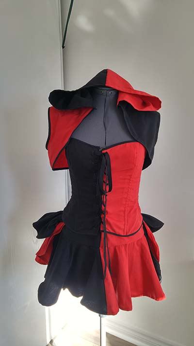 Harley Quinn Dress Cosplay